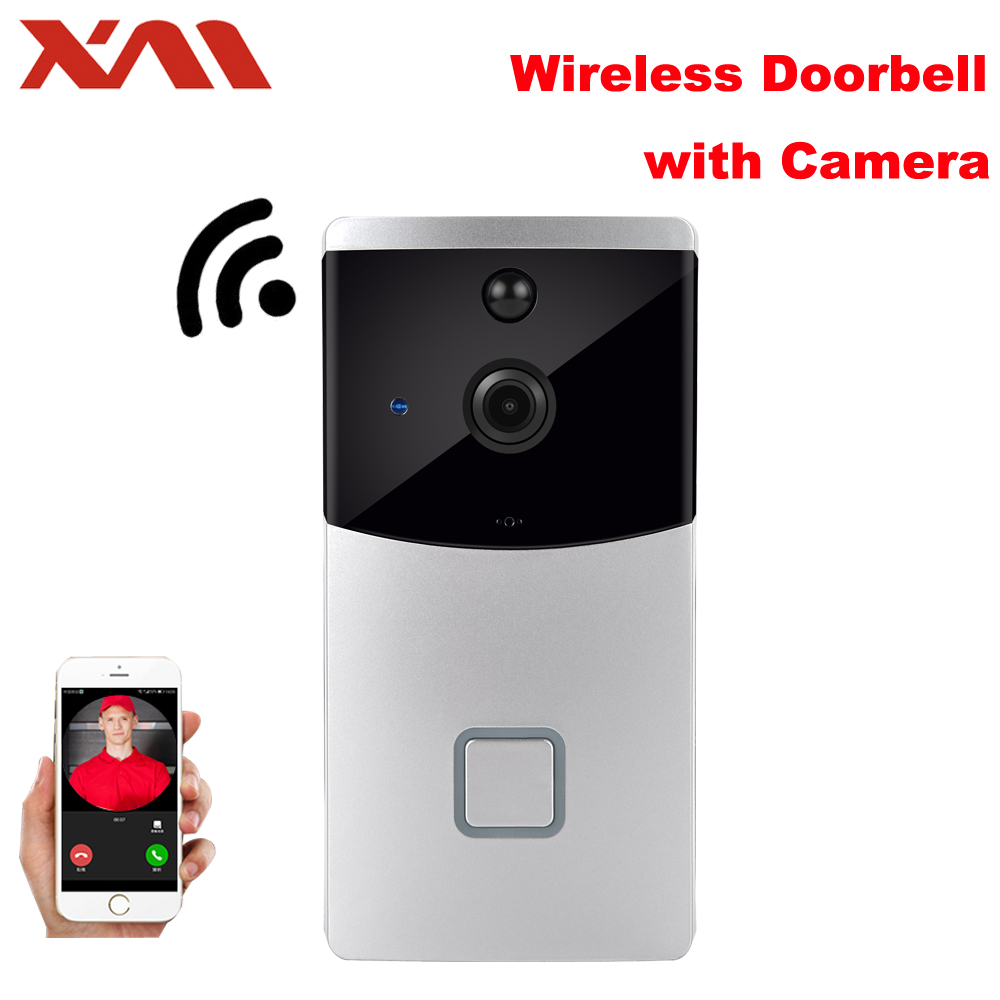 XM Video Intercom Doorbell Wireless PIR Smart Wall Wifi Remote Monitoring Camera Low Power 6 Months Standby