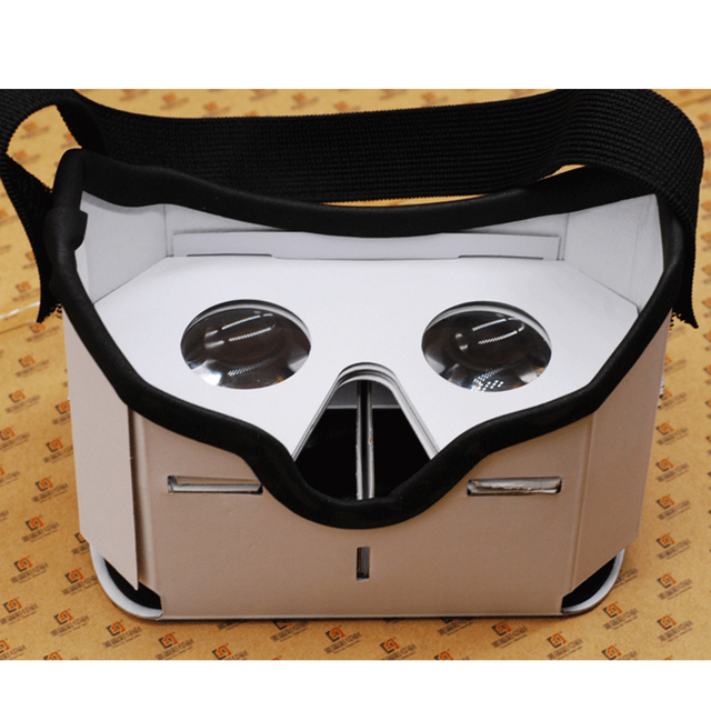 Bevigac for Google Cardboard 3D VR Box Headset VR Glasses Virtual Mobile Phone 3D Movies for Smartphones up to 5.5 inch Screen