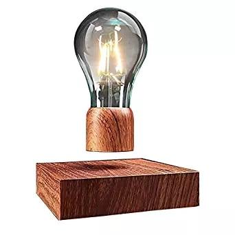 Magnetic Levitating Floating Wireless Led Light Bulb Desk Lamp For Unique Gifts Room Decor Night Light