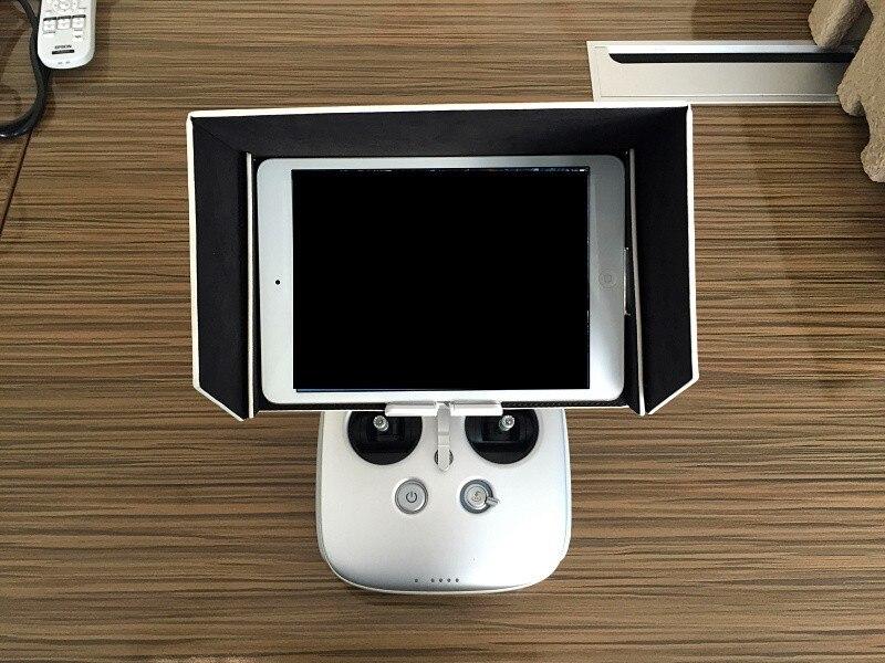 מכירה חמה על ZJM 8 אינץ iPad Mini שמשיה הוד כיסוי נגד אבק עבור DJI Inspire 1 & פנטום 3 / 4