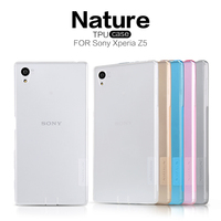 Nillkin Ultra Thin Perfect Clear Crystal Transparent TPU Soft Cover Case For Sony Xperia Z5 E6603