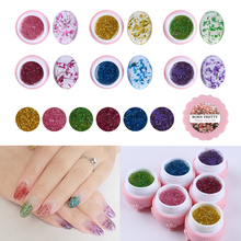1 Box BORN PRETTY Flower Fairy Gel 5g Floral Soak Off Manicure Nail Art UV Gel 6 Colors