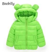 Beebilly куртка для девочки одежда для девочек куртки для девочек куртка для мальчика пуховик для девочки зимние куртки для девочек парка для девочки Куртка с капюшоном для девочек хлопок парк детская одежда
