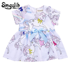 Baby girl dress unicorn dress baby girl summer clothes first birthday outfit toddler girl infant clothing Tutu mini Dress