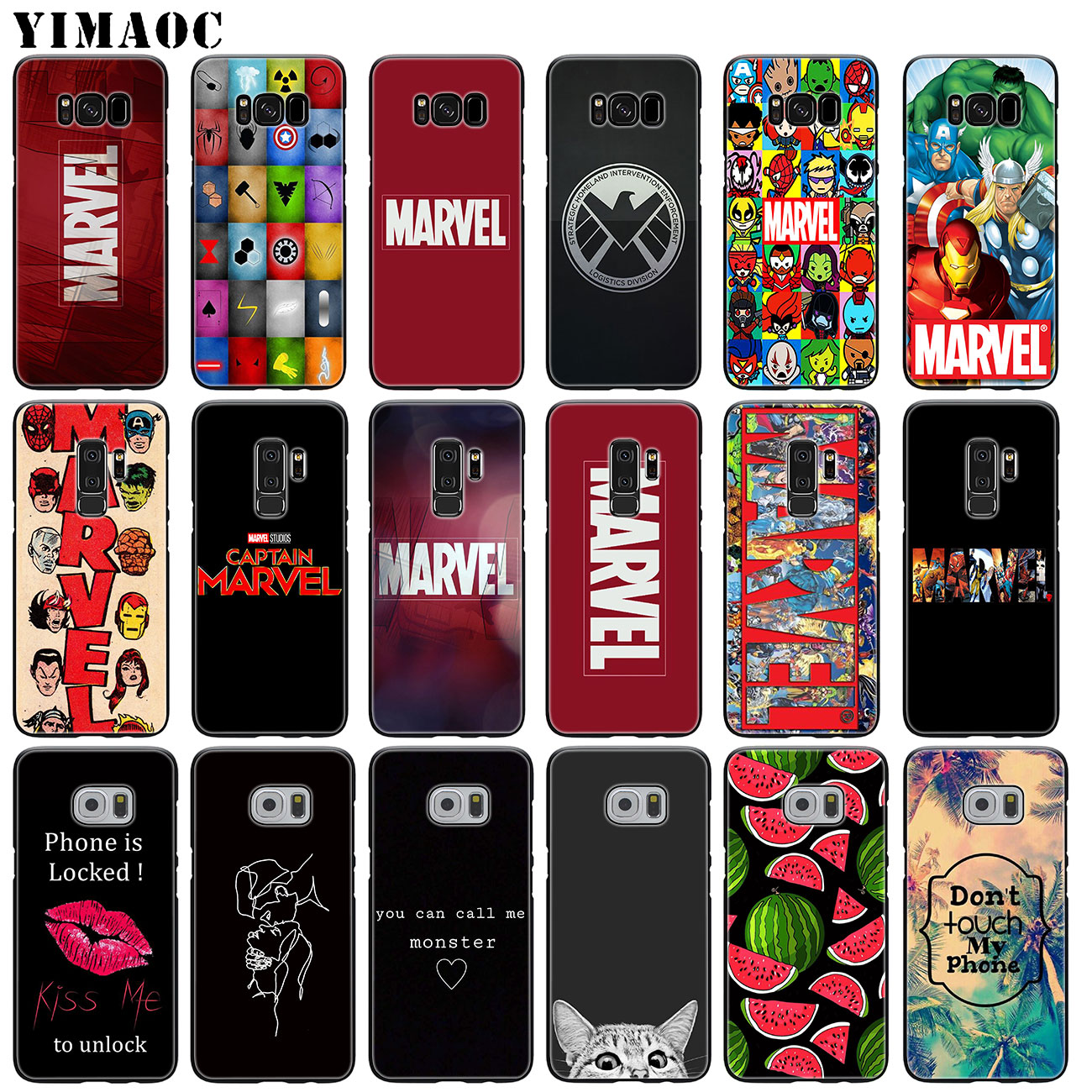 Cellphones & Telecommunications Phone Pattern For Samsung Galaxy S8 S9 S10 S10e S10 Plus M20 S6 S6edge S7 S7edge Silicone Soft Case Dr Marvel Comics Doctor Str Phone Bags & Cases