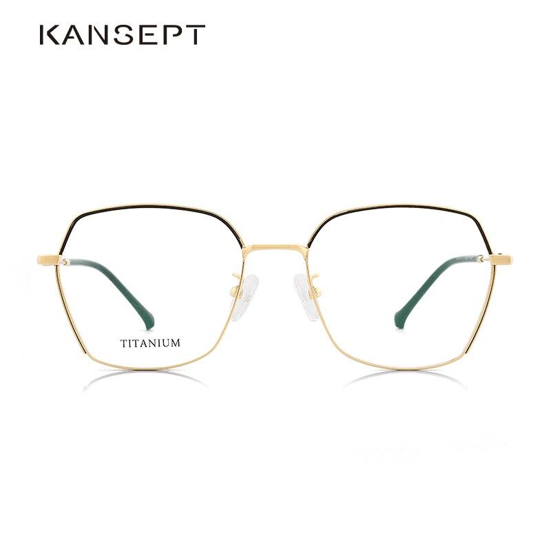 Titanium Alloy Optical Glasses Frame Women Prescription Eyeglasses Korean Denmark Women Brand Designer Myopia Frame 190015C1