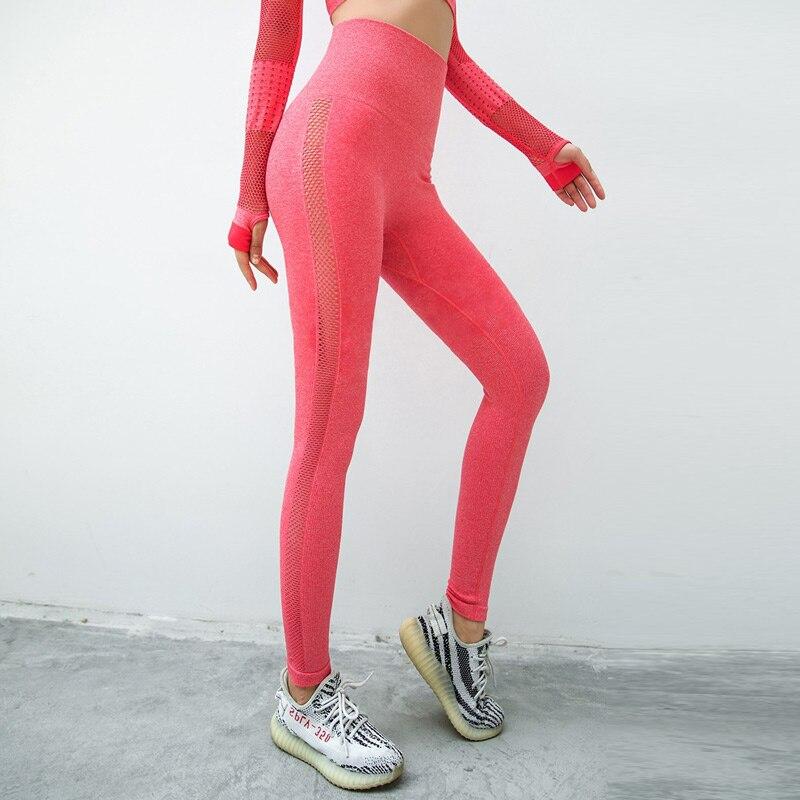 High waist seamless leggings sport women fitness yoga legging thick fabric gym legging workout sport leggings athletic tights 1