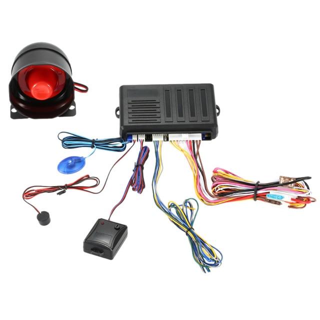 Professional 1 Way Upgrade Car Alarm Protection Security ...
