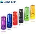 Leizhan 2017 venda quente usb flash drive 64g pen drive pendrive 32G Stick USB 2.0/16/8/4 gb Cartão de Memória De Computador Presente Vara U disco