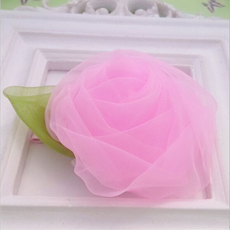 Hot Summer Style Big Chiffon Flower Wraped Barrettes Floral Children Hair Accessories Girl Hairpins Women Pearl Bud Hair Clips Durable In Use Girl's Accessories