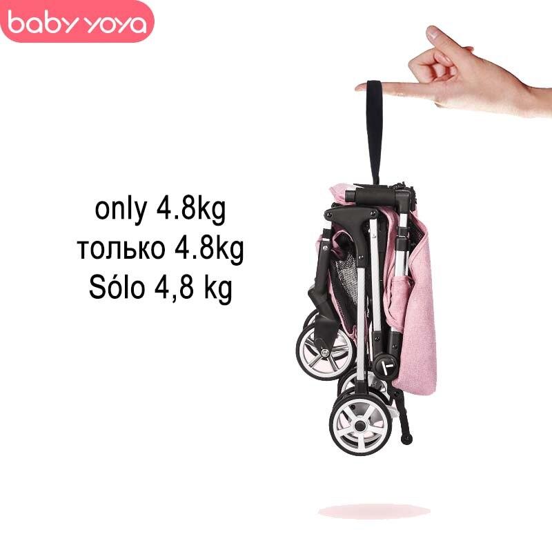 Babyyoya poussette mini yoya léger portable chariot pliant 2 en 1 bébé chariot nouvelle mise à niveau bébé voiture