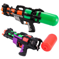Big Size Plastic Water Gun Pistol Inflatable Pressure Outdoor Sports Summer Beach Shooting Squirt Water Bullet