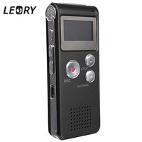 Best 8GB Mini Digital Audio Voice Recorder Dictaphone MP3 Player Recording Pen Recorder Pen Rechargeable
