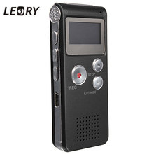 LEORY Best 8GB Mini Digital Audio Voice Recorder Dictaphone MP3 Player Recording Pen Recorder Pen Rechargeable
