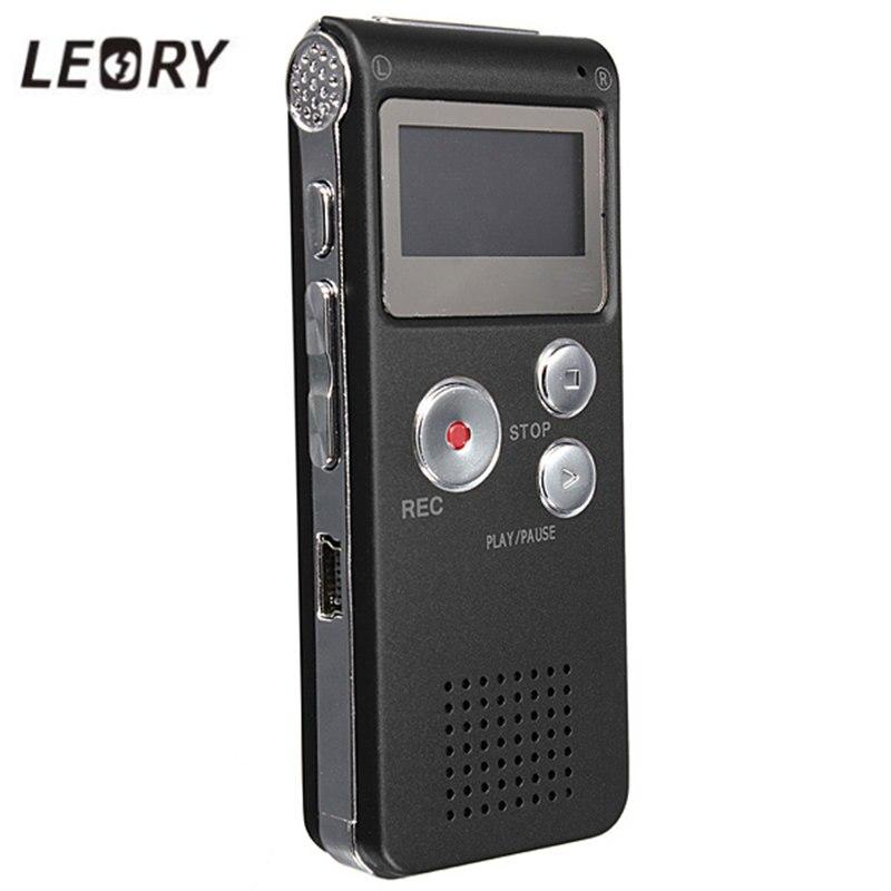 Leory Best 8 ГБ Мини Цифровой Аудио Голос Регистраторы диктофон MP3-плееры Запись ручка Регистраторы ручка Перезаряжаемые