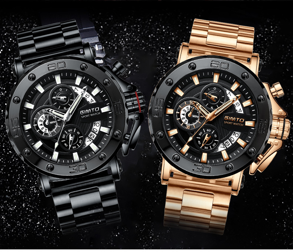 2018 Men Fashion Sport Quartz Clock Mens Watches Top Brand Luxury Business 3TM Waterproof Watch цена и фото