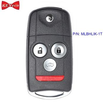 KEYECU für Acura TL TSX ZDX 2010 2011 2012 2013 Ersatz Fernbedienung Auto Schlüssel Fob 4 Taste MLBHLIK-1T