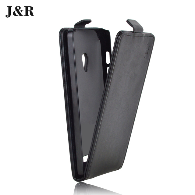 J&R Brand Leather Case for Asus ZenFone 5 A501CG A500CG A500KL T00J T00F High Quality Flip Cover Case For Zenfone 5 covers