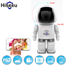 Hiseeu FM3 Wifi Robot camera 960P 1.3MP HD Wireless IP Camera Night Vision IP Network Camera CCTV Support Two-Way Audio