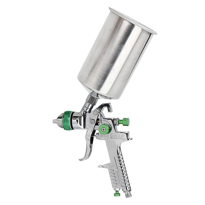 1.4mm 1L HVLP Gravity Feed Spray Gun Auto Paint Primer Metal Flake with Regulator High Quality