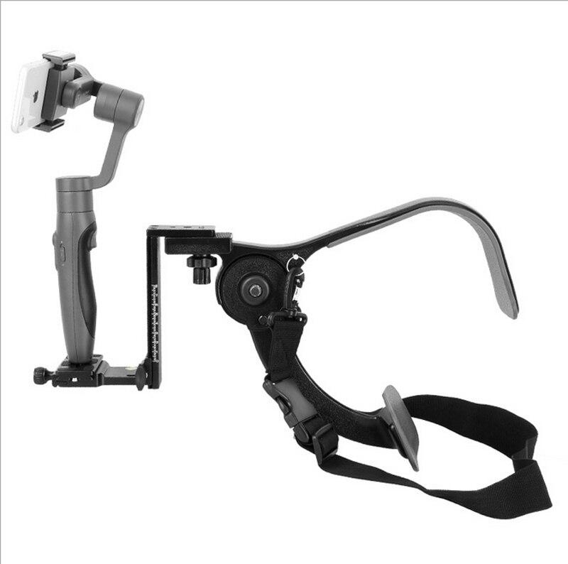 De poche micro unique appareil photo REFLEX d'épaule support téléphone mobile En Plein Air caméra tir stabilisateur