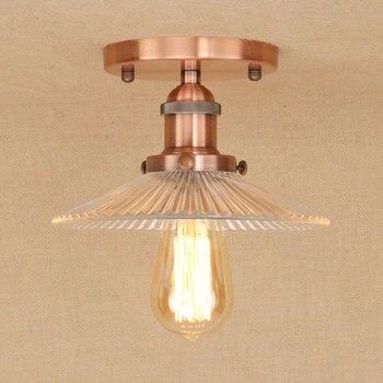 IWHD Glas Deckenleuchten Vintage Wohnzimmer Lamparas De Techo Schlafzimmer Led-deckenleuchte Für Küche Home Leuchten