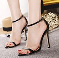 Sexy thin high heels sandals pumps fashion elegant heels women pumps wedding party heels shoes Plus size 43 big size shoes