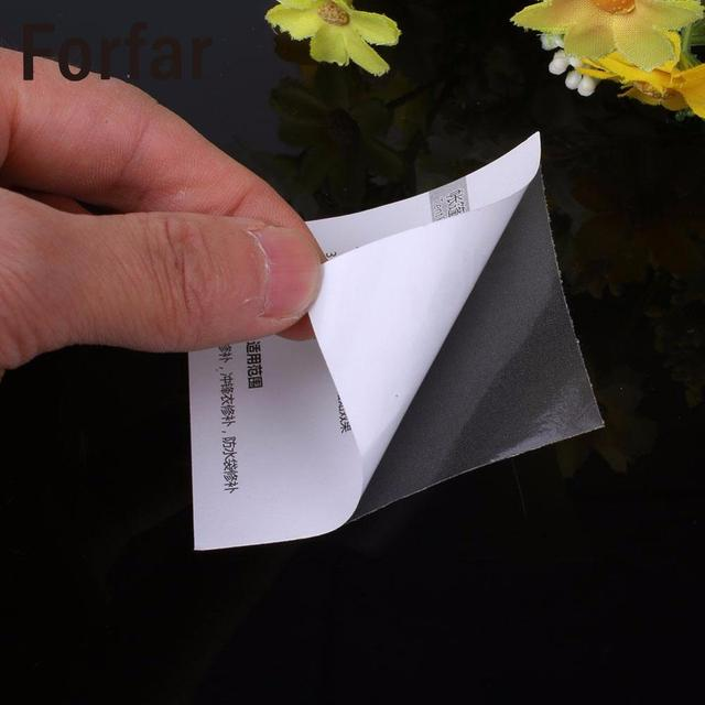 Forfar Self Adhesive Nylon sticker cloth patch DIY Mending Down Outdoor Jacket Tent Repair Tent Accessories