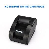 Original 5890k impressora térmica pos recibo térmico bilhete de impressora baixo ruído pos interface usb bill pagamento como zjiang 5890k terow