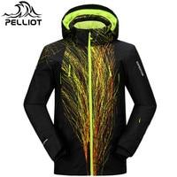 Pelliot Brand Ski Jacket Men Waterproof Warm Snow Winter Jacket Male Super Breathable Outdoor Mountain Skiing Suit Ski Coat