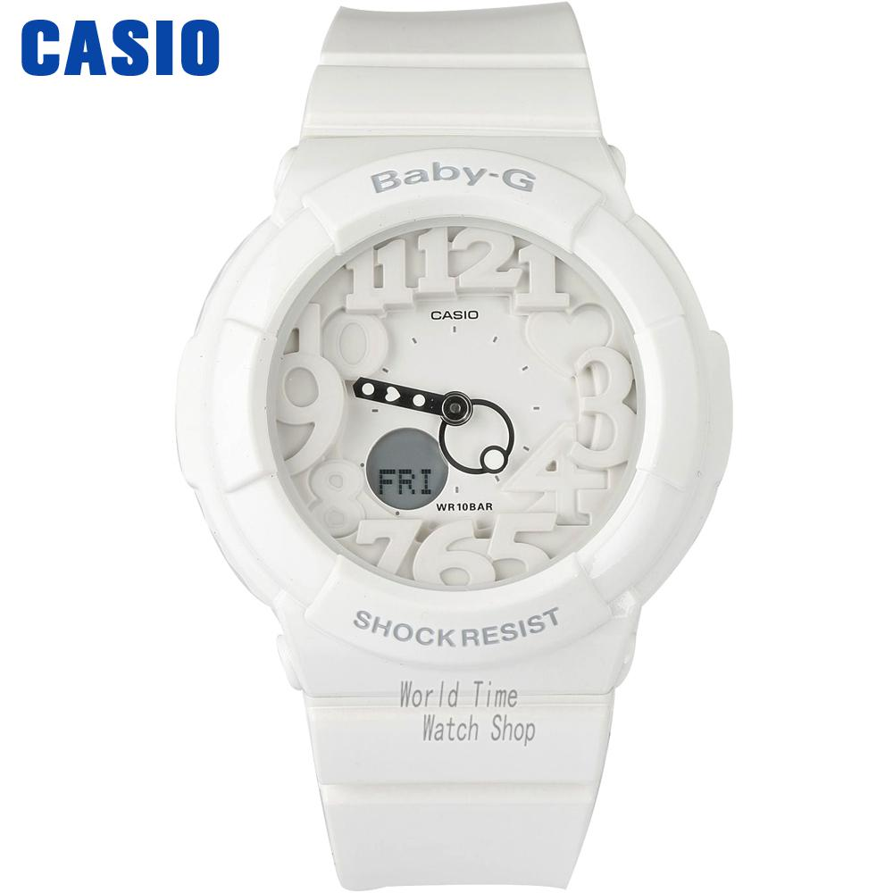 Casio Watch fashion trendy multi-functional waterproof female watch BGA-131-7B BGA-131-7B2  casio watch sweet fashion sports female student watch lx 500h 1b 1e 4e 7b2
