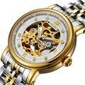 Switzerland Nesun  часы-скелетоны для мужчин  роскошные брендовые автоматические часы с самовсасывающим стеклом  водонепроницаемые часы с сапфиров...