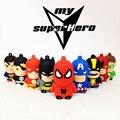 CHYI Супергерой Мститель/Супермен/Бэтмен/Daredev/Человек-Паук Флешки USB2.0 USB Flash Drive 8 ГБ 16 ГБ 32 ГБ Мультфильм Pen Drive U Диск