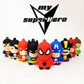 CHYI Superhero Avenger/Superman/Batman/Daredev/Spider Man Pendrive USB2.0 USB Flash Drive 8GB 16GB 32GB Cartoon Pen Drive U Disk