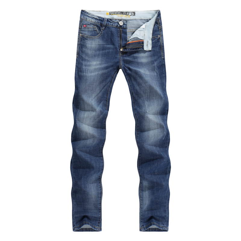 Men Jeans Business Casual Thin Summer Sts