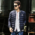 Pioneer Camp 2016 fashion new winter white down jacket men brand clothing Top quality Thick warm winter jacket men casual parkas