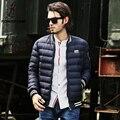 Pioneer camp 2016 de moda de nova branco de inverno para baixo homens jaqueta roupas de marca Top Quality Grosso casaco de inverno quente dos homens casuais parkas