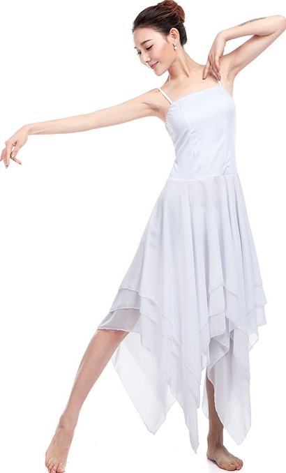 White Dance Leotards F...