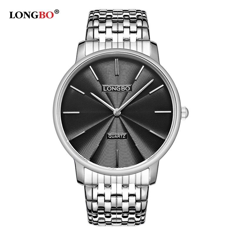 LONGBO Brand 2017 Luxury Men Women Watches Fashion Waterproof Quartz Wristwatch Montre Homme Classic Couple Watch Gifts 5061