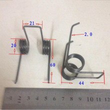 Double Torsion Spring Diameter 2.0 outer D 20MM 3 rings torque tension springs X10
