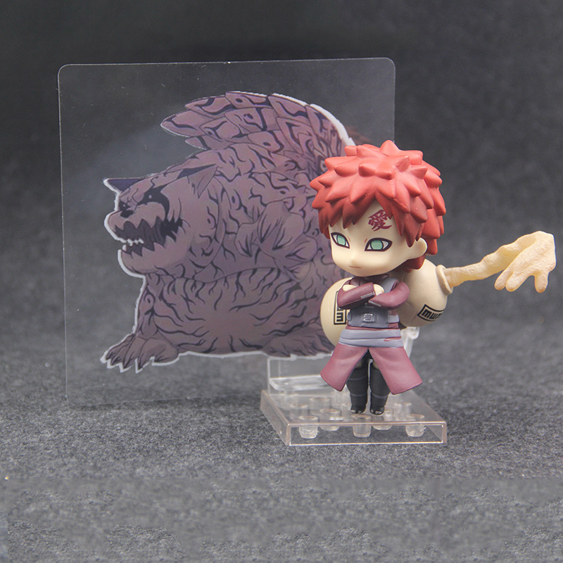 NEW hot 10cm Naruto Sabaku no Gaara Action figure toys doll Christmas gift with box