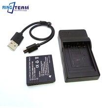 BCF10 BCF10E DMW-BCF10E Battery & USB Charger for Panasonic Camera DMC F2 F3 FH1 FH20 FH22 FH3 FP8 FS10 FS11 FS12 FS15 FS25 FS33