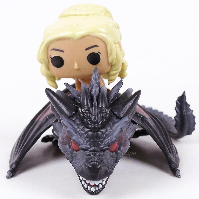 Daenerys & Dragon Vinyl Figure Collectible Model Toy with Retail Box 12cm шлифмашина вибрационная skil 7380la f0157380la