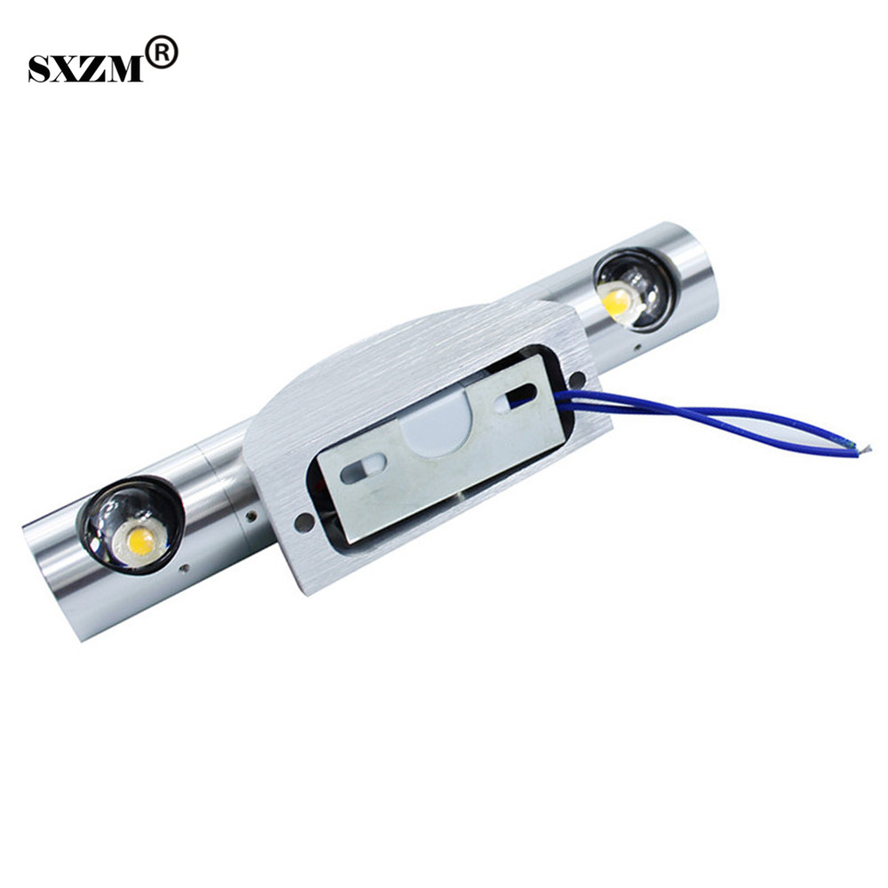 SXZM LED 2W  wall light Epistar chip 360 degree rotatable high power led spotlight for home/KTV/bar indoorSXZM LED 2W  wall light Epistar chip 360 degree rotatable high power led spotlight for home/KTV/bar indoor