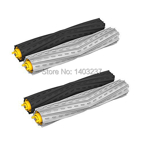 2 Sets Tangle-Free Debris Extractor Set replacement For iRobot Roomba 800 series 870 880 900 series 980