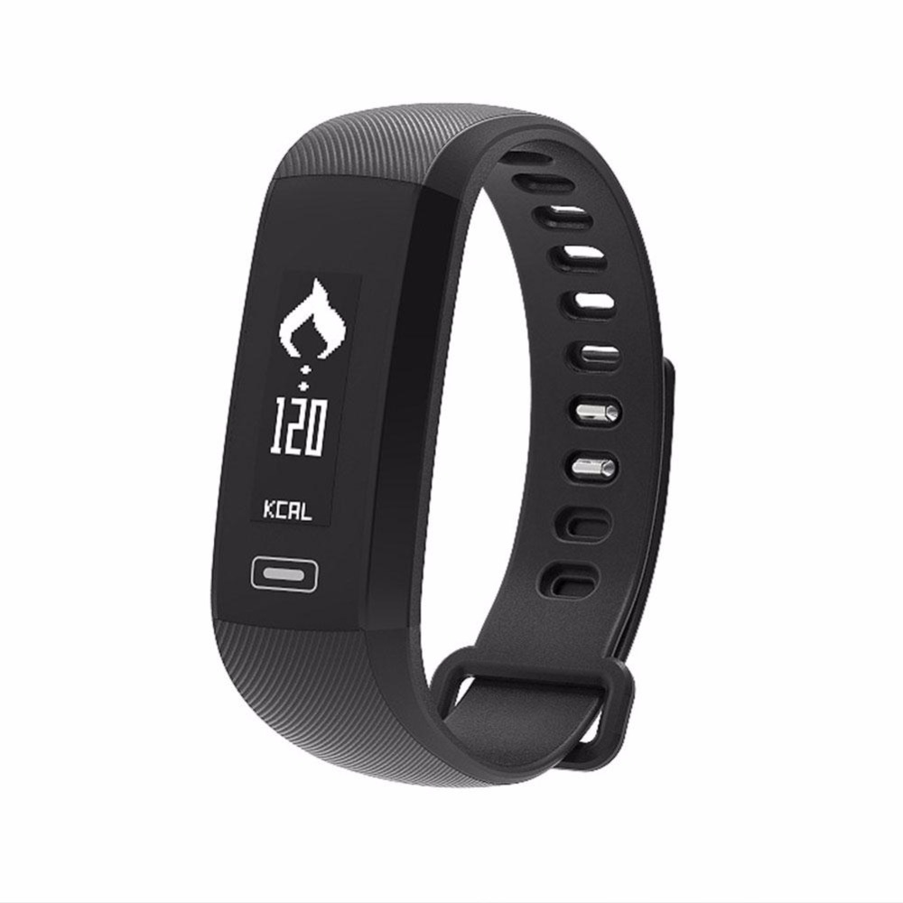 High Quality 0 86 Inch OLED Screen Smart Bracelet Watch Wristwatch Heart Rate Monitor iOS Android