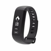 Высокое качество 0.86 «дюйма OLED Экран умный браслет часы наручные часы-пульсометр IOS Android телефонные звонки, подарок