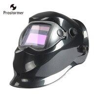 Prostormerหมวกกันน็อกเชื่อมสีดำสุทธิหน้ากากเชื่อมArc Tig Migบดพลังงานแสงอาทิตย์เชื่อม& ampบัดกรีอุปกรณ