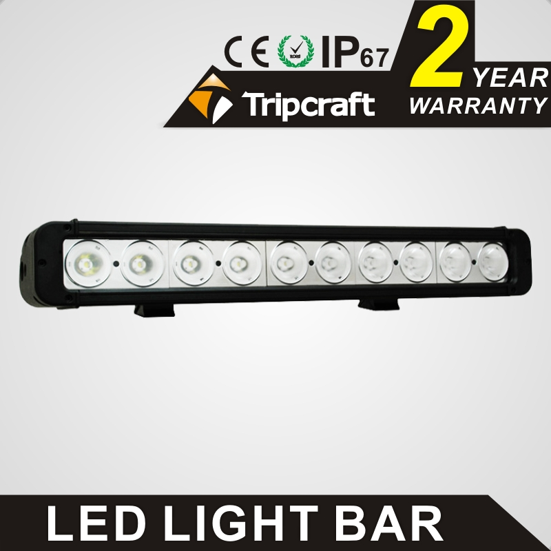 TRIPCRAFT 100w led work light bar 8500lm spot flood combo beam car driving lamp for offroad 4x4 truck ATV fog lamp 17.2inch IP67 17 inch 108w led light bar spot flood combo light led work light bar off road truck tractor suv 4x4 led car light 12v 24v