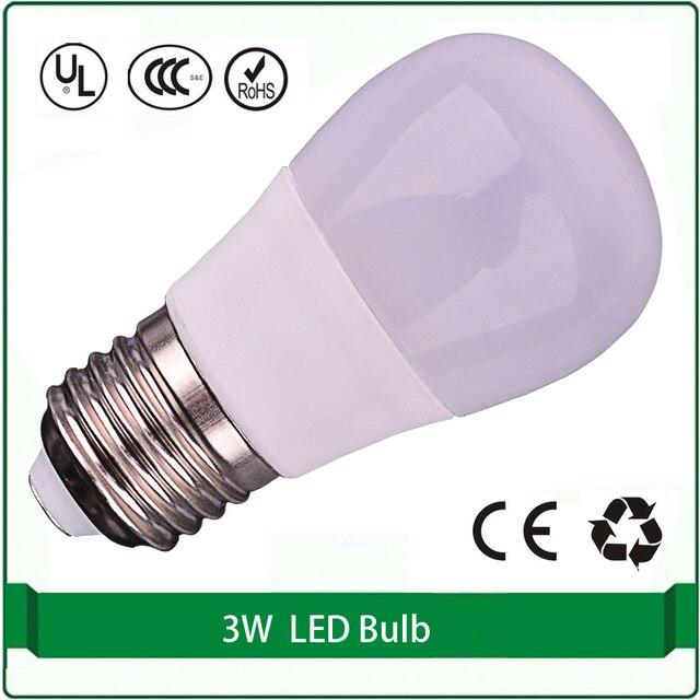 Free Shipping E26 LED Bulb Light 3W 220 230 Volt Led Light Bulbs Lamp